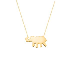 گردنبند طلا فیل