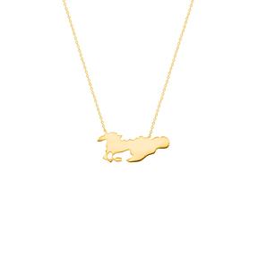 گردنبند طلا اسب