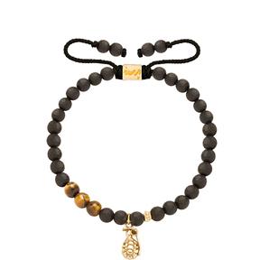 دستبند طلا سنگی نارنجک