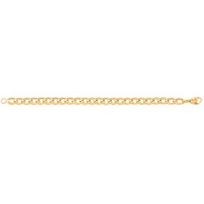 دستبند زنجیری طلا کارتیه 10 میلی متری چشم نظری