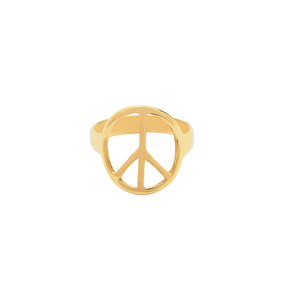 انگشتر طلا نماد صلح