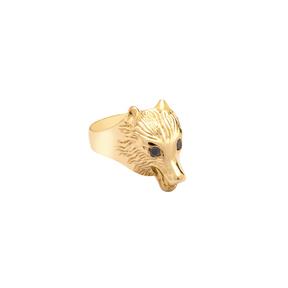 انگشتر طلا گرگ