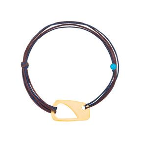 دستبند طلا بافت شکل-۱