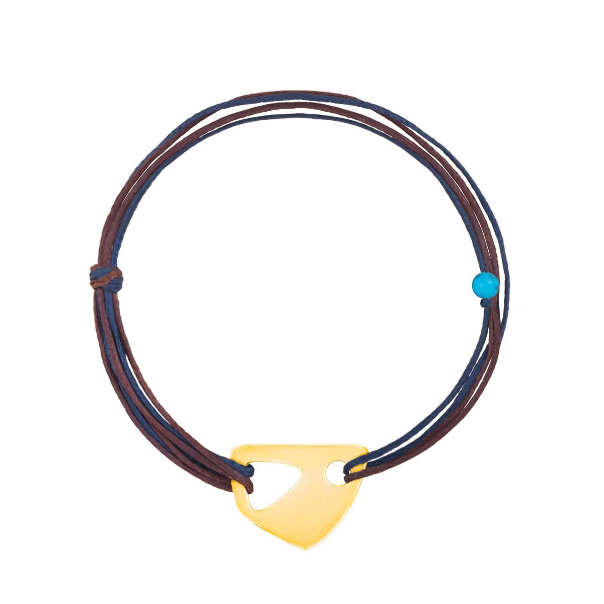 دستبند طلا بافت شکل-۲