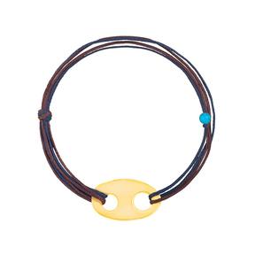 دستبند طلا بافت شکل-۴