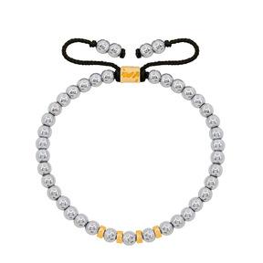 دستبند طلا سنگی چهار مهره