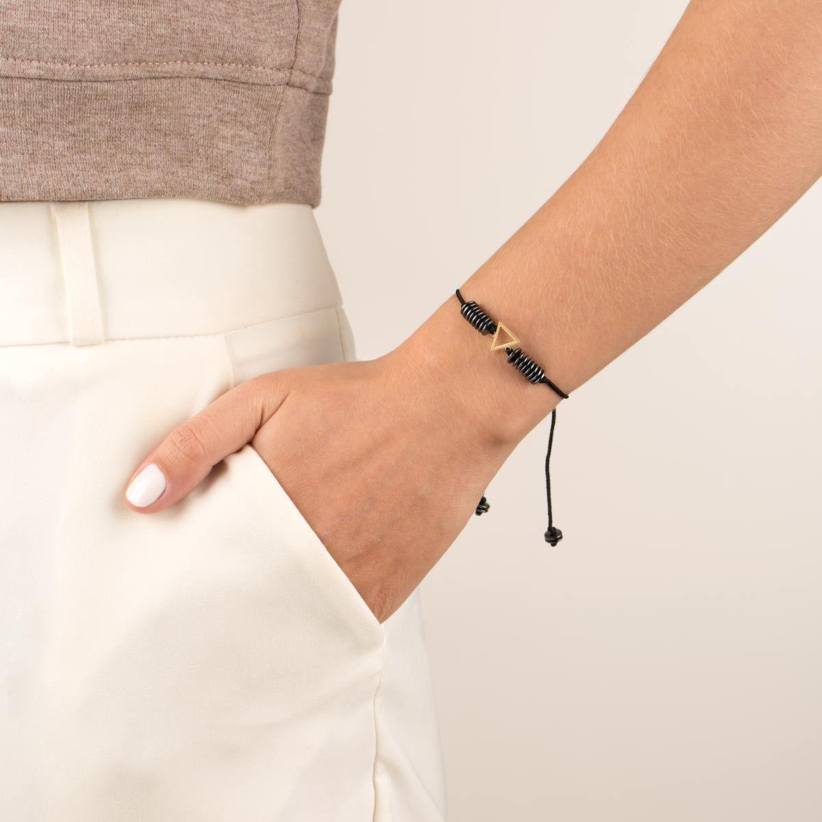 دستبند طلا عنصر آب کوچک