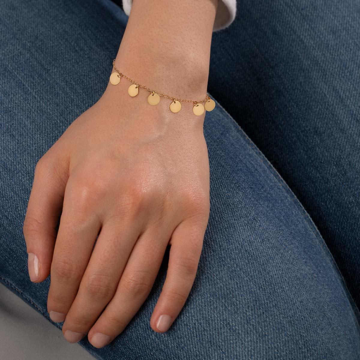 دستبند طلا پری دریایی