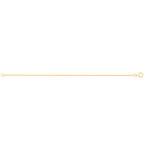 دستبند زنجیری طلا کارتیه 1 میلی متری