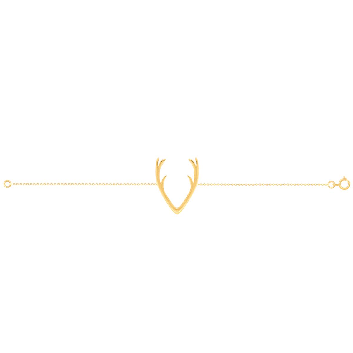 دستبند طلا شاخ گوزن