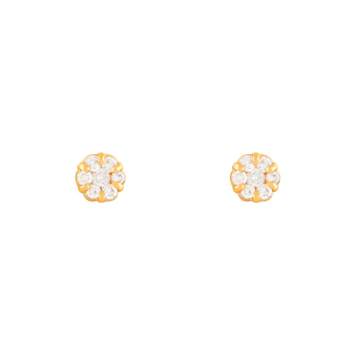 گوشواره طلا فلاور