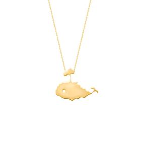 گردنبند طلا نهنگ