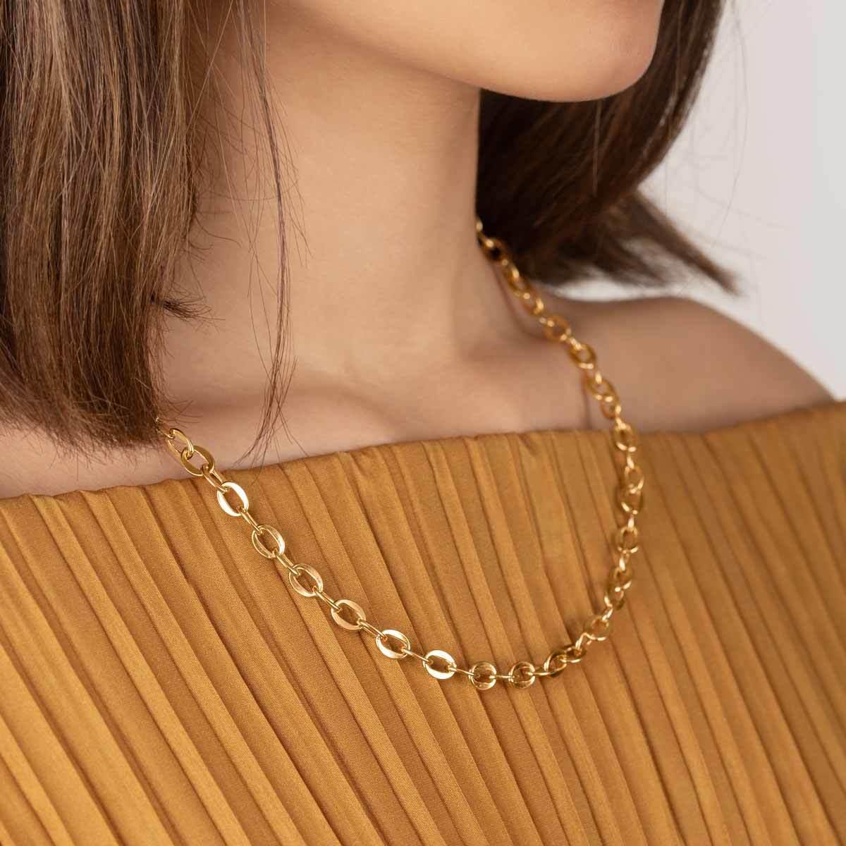 زنجیر گردنبند طلا جادویی