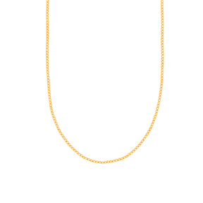 گردنبند زنجیری طلا کارتیه 2 میلی متری