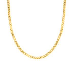 گردنبند زنجیری طلا کارتیه 5 میلی متری