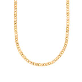 گردنبند زنجیری طلا کارتیه 6 میلی متری