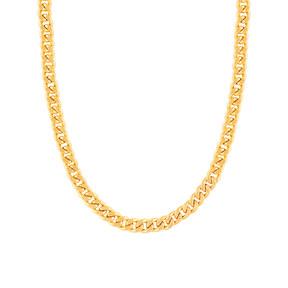 گردنبند زنجیری طلا کارتیه 10 میلی متری