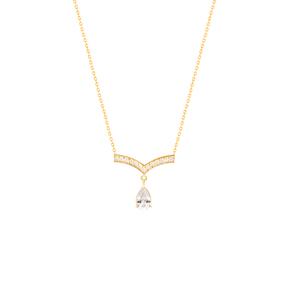 گردنبند طلا آدینا کریستال