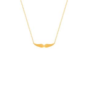 گردنبند طلا بال فرشته کوچک