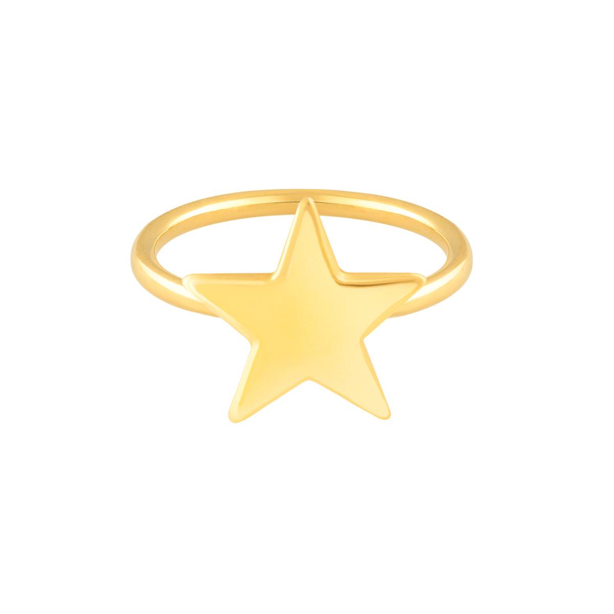 انگشتر طلا ستاره