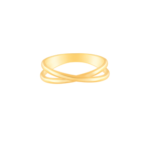 انگشتر طلا بند انگشتی ضربدر