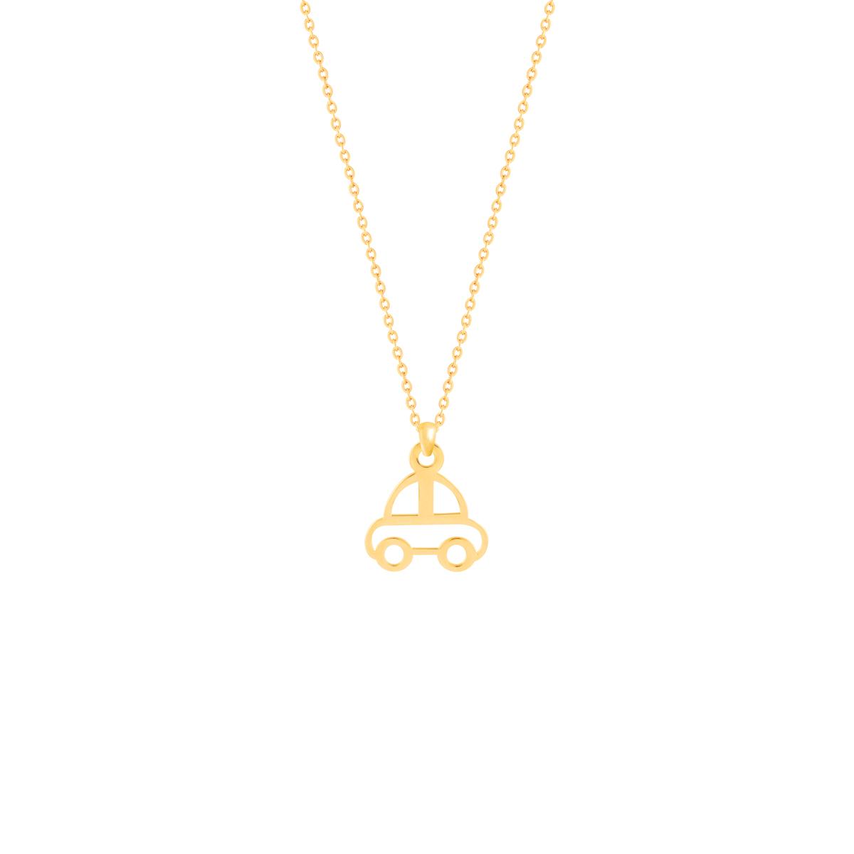 گردنبند طلا بچه گانه ماشین