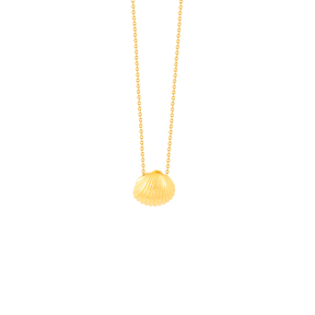 گردنبند طلا صدف کوچک